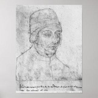 John of Burgundy, bishop of Cambrai Poster