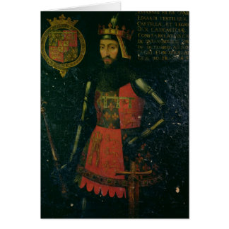 John of Gaunt, Duke of Lancaster Card