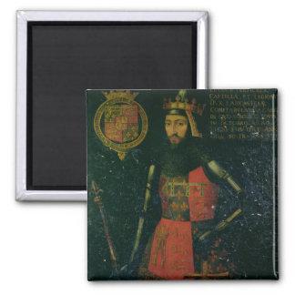 John of Gaunt, Duke of Lancaster Square Magnet
