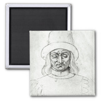 John of Luxembourg Magnet