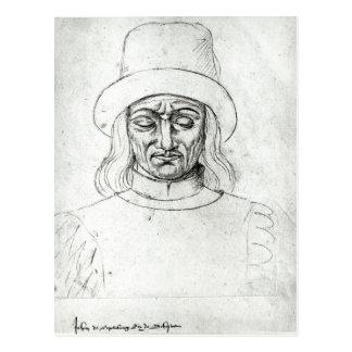 John of Luxembourg Postcard