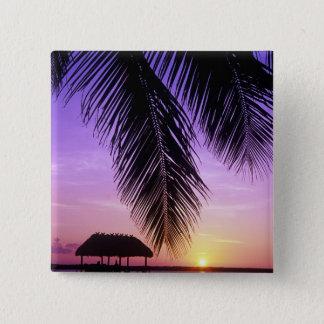 John Pennekamp State Park, Florida Keys, Key 15 Cm Square Badge
