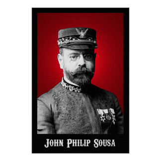 John Philip Sousa 36 x 24 Poster