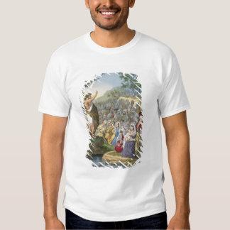 John Preaching in the Wilderness, from a bible pri Shirts