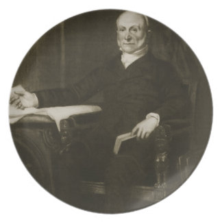 John Quincy Adams, 6th President of the United Sta Dinner Plate