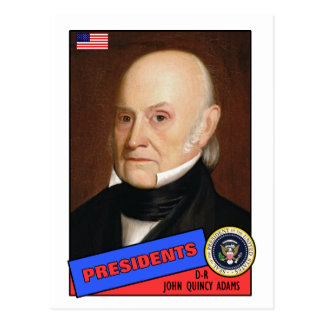 John Quincy Adams Baseball Card