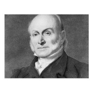 John Quincy Adams Postcard