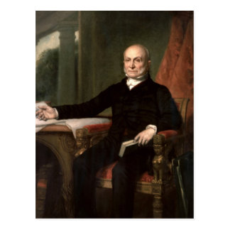 John Quincy Adams Postcard