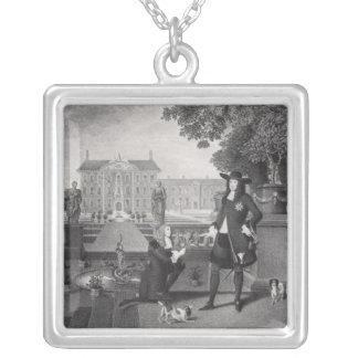 John Rose  the King's Gardener Silver Plated Necklace