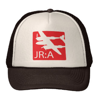 'John Ross: American' Logo Trucker Hat