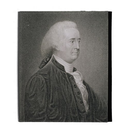 John Rutledge (1739-1800), engraved by G.F. Storm iPad Folio Covers