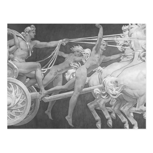 John Sargent- Apollo in His Chariot with the Hours Post Cards