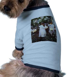 John Sargent: Carnation, Lily, Rose Doggie Shirt