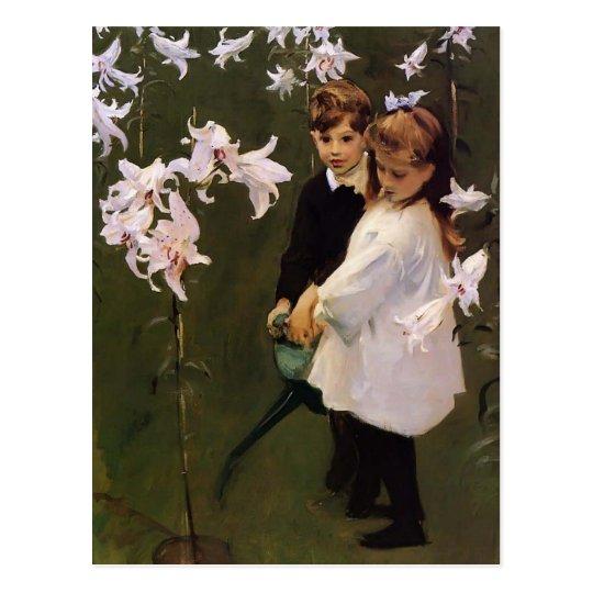 John Sargent- Garden Study of the Vickers Children