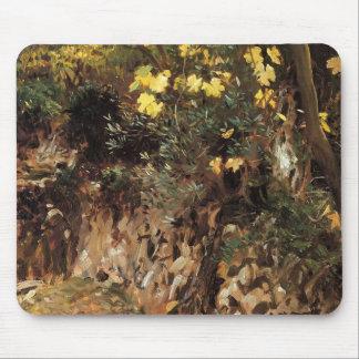 John Sargent- Girls Gathering Blossoms, Valdemosa Mouse Pads