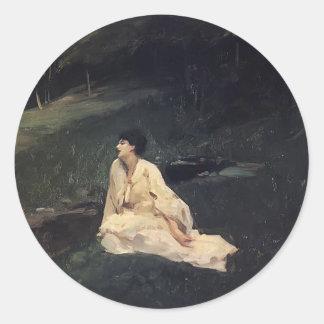 John Sargent- Judith Gautier Round Sticker