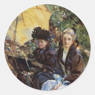 John Sargent-Miss Wedewood,Miss Sargent Sketching Stickers
