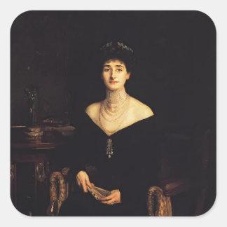John Sargent- Mrs. Ernest G. Raphael Stickers