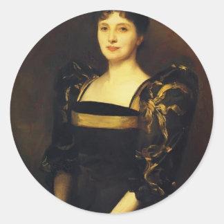 John Sargent- Mrs. George Lewis Sticker