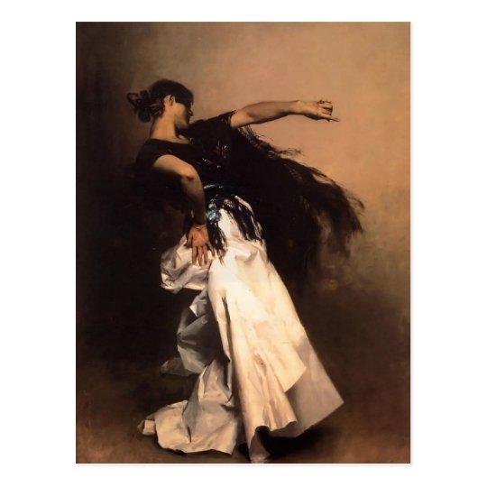 John Sargent-Spanish Dancer, study for 'El Jaleo' Postcard