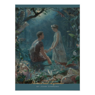 John Simmons Hermia and Lysander Midsummer CC0754
