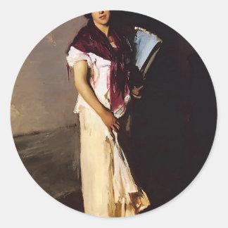 John Singer Sargent- A Venetian woman Stickers