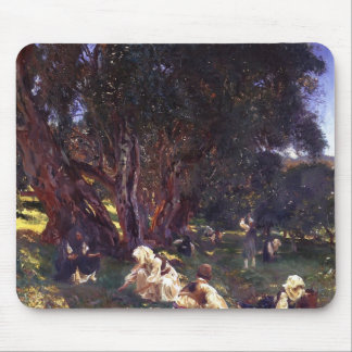John Singer Sargent- Albanian Olive Pickers Mouse Pads