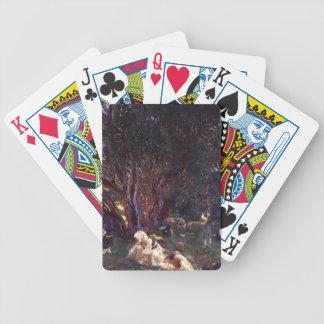 John Singer Sargent- Albanian Olive Pickers Poker Deck