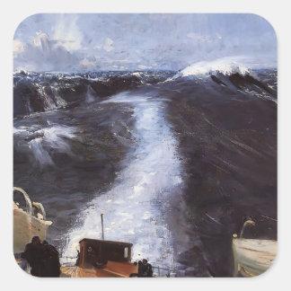 John Singer Sargent- Atlantic Storm Sticker