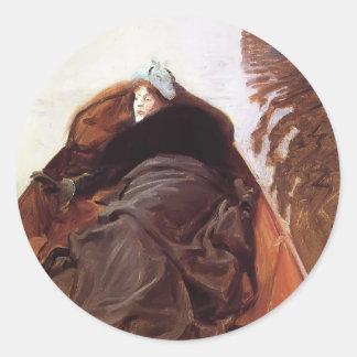 John Singer Sargent- Autumn on the River Sticker