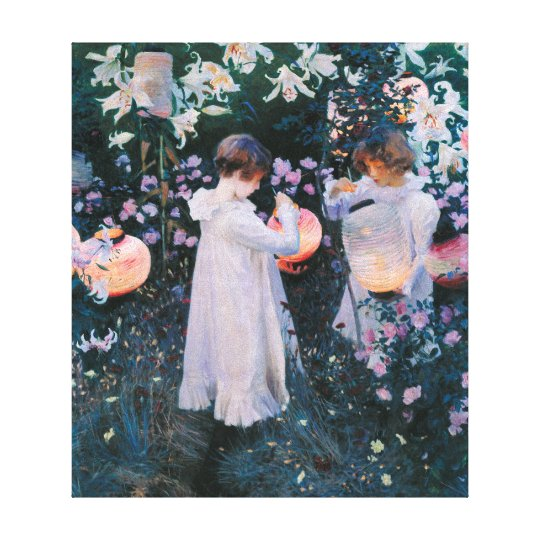 John Singer Sargent Carnation Lily Lily Rose Canvas