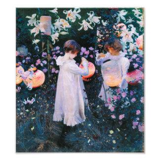 John Singer Sargent Carnation Lily Lily Rose Photo Art