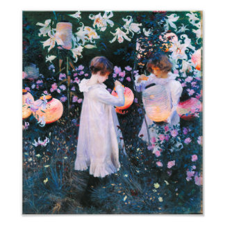 John Singer Sargent Carnation Lily Lily Rose Photo Print