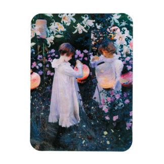 John Singer Sargent Carnation Lily Lily Rose Rectangular Photo Magnet