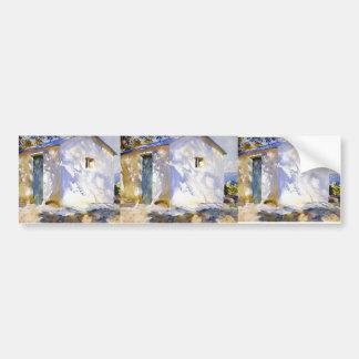 John Singer Sargent- Corfu: Lights and Shadows Bumper Sticker