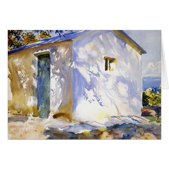 John Singer Sargent- Corfu: Lights and Shadows Card