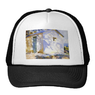 John Singer Sargent- Corfu: Lights and Shadows Mesh Hats