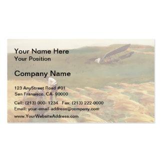 John Singer Sargent Crashed Aeroplane Business Card Templates
