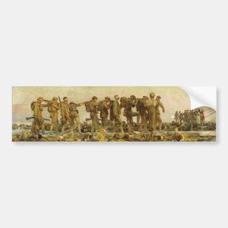 John Singer Sargent - Gassed Bumper Sticker