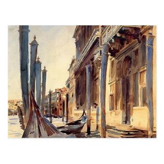 John Singer Sargent- Grand Canal, Venice Postcards