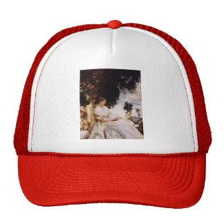 John Singer Sargent- In the Garden, Corfu Mesh Hats