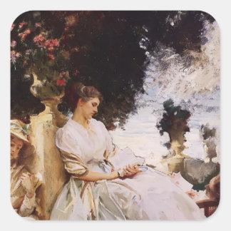 John Singer Sargent- In the Garden, Corfu Stickers