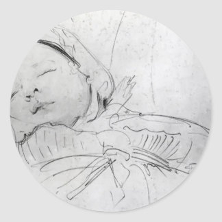 John Singer Sargent: Jack Millet as a Baby Stickers