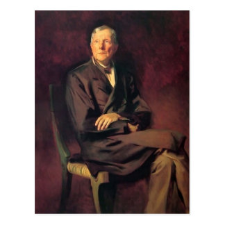 John Singer Sargent- John D. Rockefeller Postcard