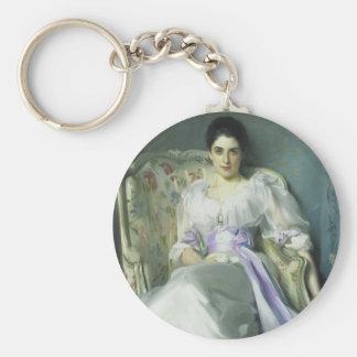John Singer Sargent Lady Agnew Keychain