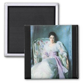 John Singer Sargent - Lady Agnew Square Magnet