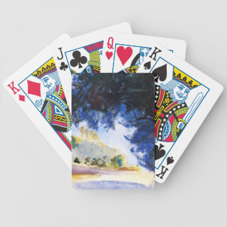 John Singer Sargent Landscape Olive Trees Corfu Bicycle Playing Cards