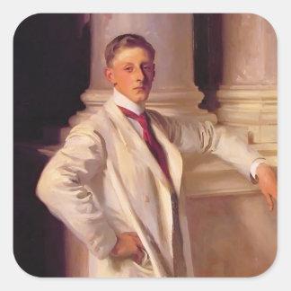 John Singer Sargent- Lord Dalhousie Square Sticker