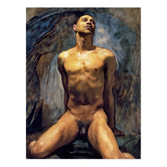 John Singer Sargent - Male Study Postcard