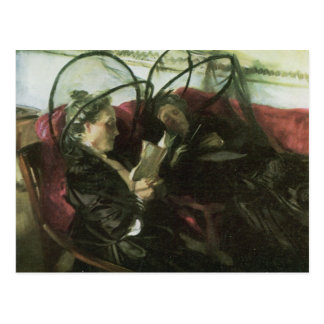 John Singer Sargent - Mosquito nets Postcard